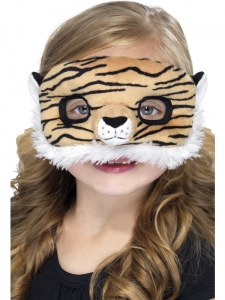 Child Plush Eyemask,Tiger unisex one size