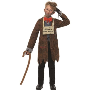 Childrens David Walliams Deluxe Mr Stink Fancy Dress Costume World Book Day