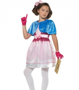 Roald Dahl Veruca Salt World Book Day Girls Fancy Dress Costume