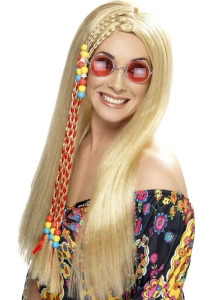Hippy Lady Party wig Blonde