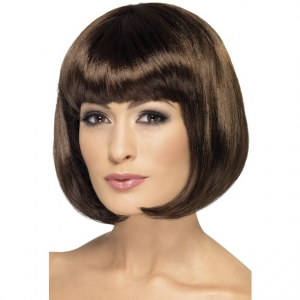 Brown Glamour short Bob Wig