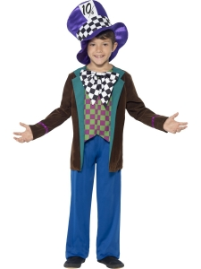 childrens mad hatter fancy dress costume
