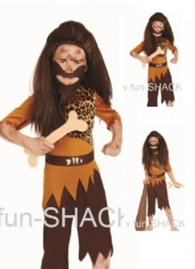 Boys Stone Age Cave Boy/ The Twits Fancy Dress Book Week Costume