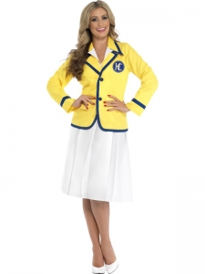 Ladies holiday rep Hi De Hi fancy dress costume