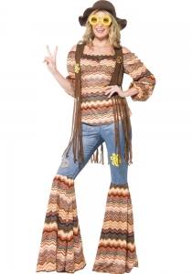 Ladies  60's & 70's Harmony Hippy Costume
