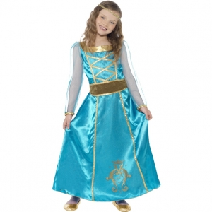 Girls Medieval  Maid Marian Costume