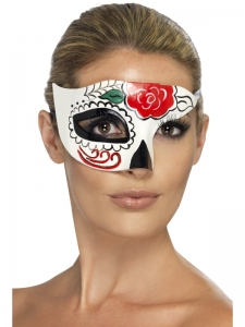 Day of the dead Masquerade half face Eye Mask accessory