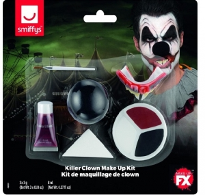 Clown Make-Up Set and Brush
