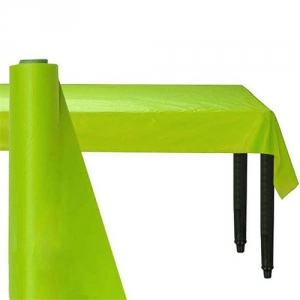 Giant Kiwi Green Party Banqueting Table Roll Cover Plastic 30 metre x 1.1 metre