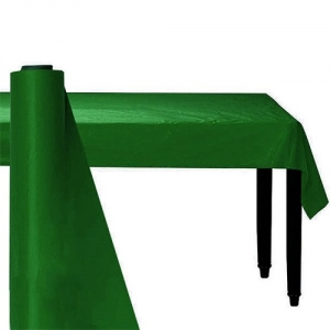 Giant Festive Green Party Banqueting Table Roll Cover Plastic 30 metre x 1.1 metre
