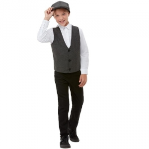 Peaky Blinders 1920s Gangster Boy Fancy Dress Kit
