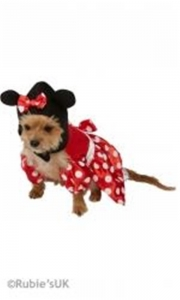 Fancy Dress animal Minnie mouse dog costume