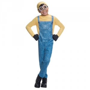 Minion Bob Boys Fancy Dress Despicable Me Fancy Dress Costume