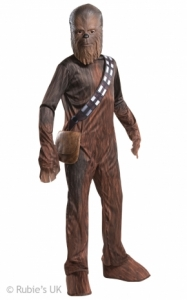 Star wars chewbacca fancy dress costume