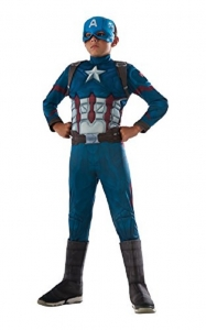 Deluxe Captain America  Costume