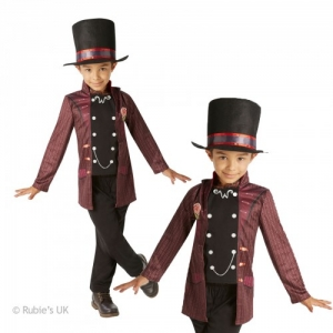 Boys Willy Wonka Fancy Dress Costume