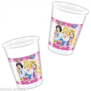 Disney Princess party cups pack of 8