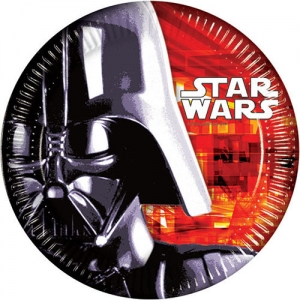 Disney Star Wars party plates 8 pack