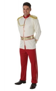 Mens Disney Fancy Dress Prince Charming Costume