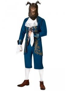 Mens Disney Fancy Dress Beauty and the Beast, Beast Costume