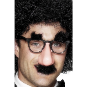 Groucho Specs, Black fancy dress accessory