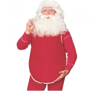 Father Christmas Giant Santa Belly Christmas Costume Accessory