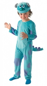 Deluxe Sulley monsters ink fancy dress kids costume