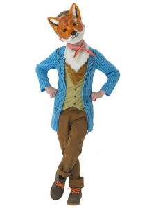 Childrens Fantastic Mr Fox Fancy Dress Costume World Book Day/ Roald Dahl