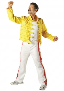 Freddie Mercury Wembley Costume Deluxe