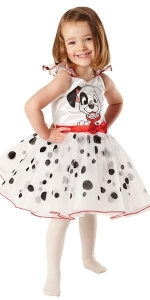Girls Disney 101 Dalmatians Ballerina Costume