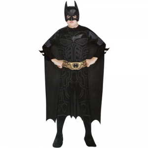 Boys Batman Classic Dark Knight Rises Fancy Dress Costume
