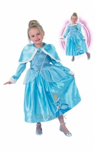 Girls Disney winter wonderland Cinderella Fancy Dress Costume