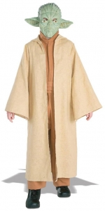 Deluxe Star wars Yoda fancy dress costume