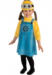 Girls Despicable Me 2 Minion Baby Toddler Costume