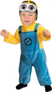 Baby boy / Girl Despicable Me 2 Minion Dave Costume