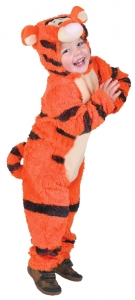 toddlers Fancy Dress Disney tigger classic Costume 2-3 yrs