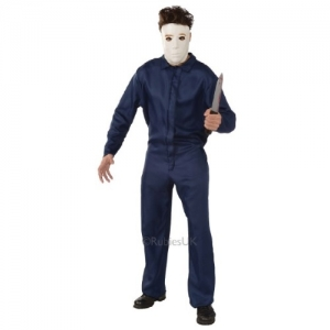 Mens Halloween Fancy Dress Scary Michael Myers Costume