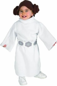 Childrens classical Star Wars Princess Leia costume