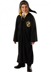 Boys / Girls Harry Potter Hufflepuff Fancy Dress Costume