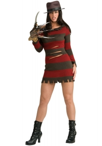 Ladies Halloween Miss Krugar Costume
