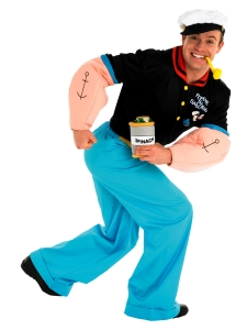 Popeye Fancy Dress Costume