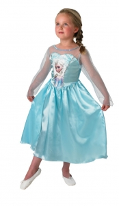 Girl's Disney Frozen Elsa Classic Fancy Dress Costume