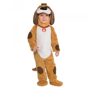 Baby Toddler Boys Girls Playful Pup Fancy Dress Costume
