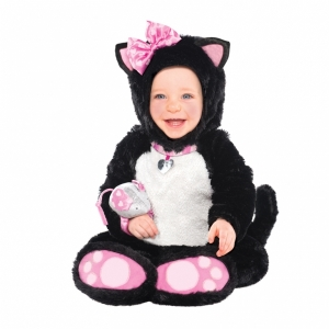 Baby / Toddler Girls Fancy Dress Costume Itty Bitty Kitty Cat Costume