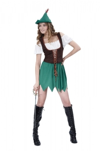 Ladies Robin Hood Budget costume
