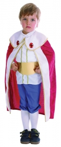Toddler King Fancy Dress Costume