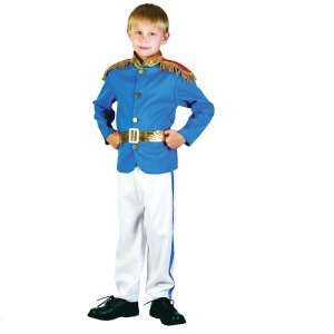 Tudor Boy Costume Blue Prince