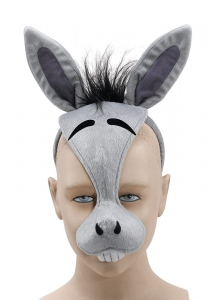 Donkey Mask With Sound For Kids / Adults
