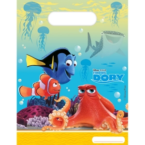 Under the Sea Theme Party Finding Dory Plastic Loot Bags