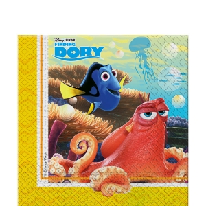Under the Sea Theme Party Finding Dory 2ply Paper Party Napkins